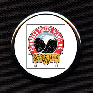 Cumbres & Toltec Scenic Railroad - Colored Toilet Seat Logo