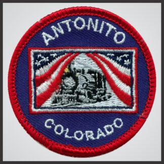 Cumbres & Toltec Scenic Railroad - Antonito Flag Logo