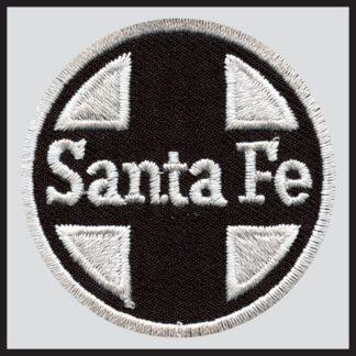 Santa Fe Railway - Black Herald