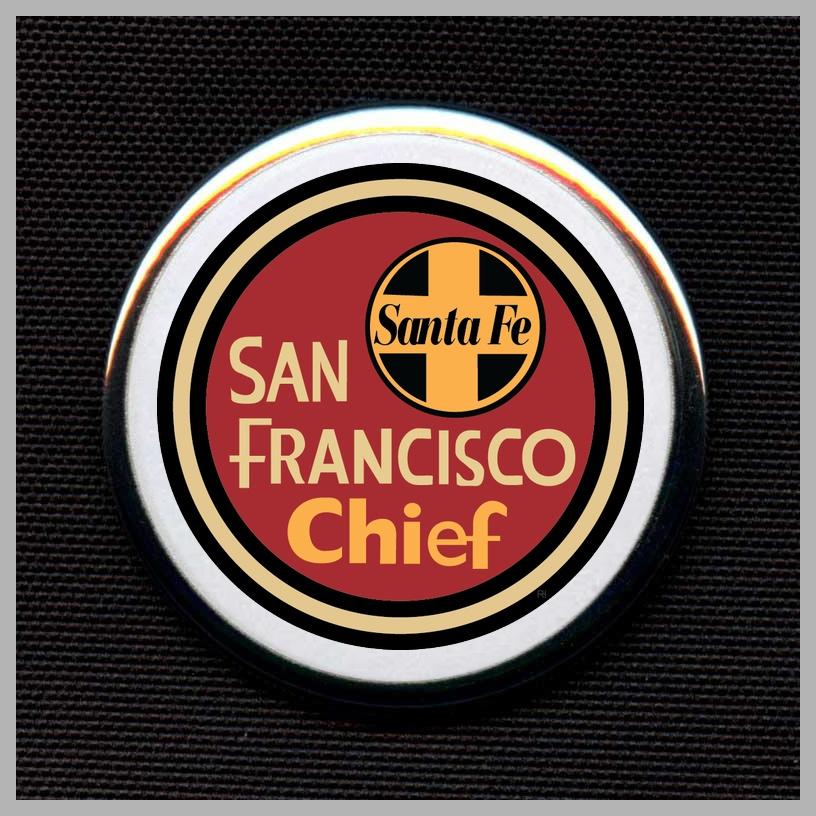 Santa Fe - San Francisco Chief