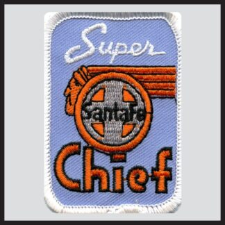 Santa Fe Super Chief - Blue Herald