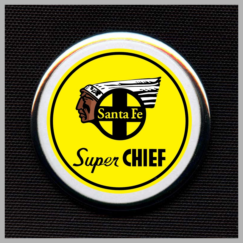 Santa Fe Super Chief - Yellow Herald