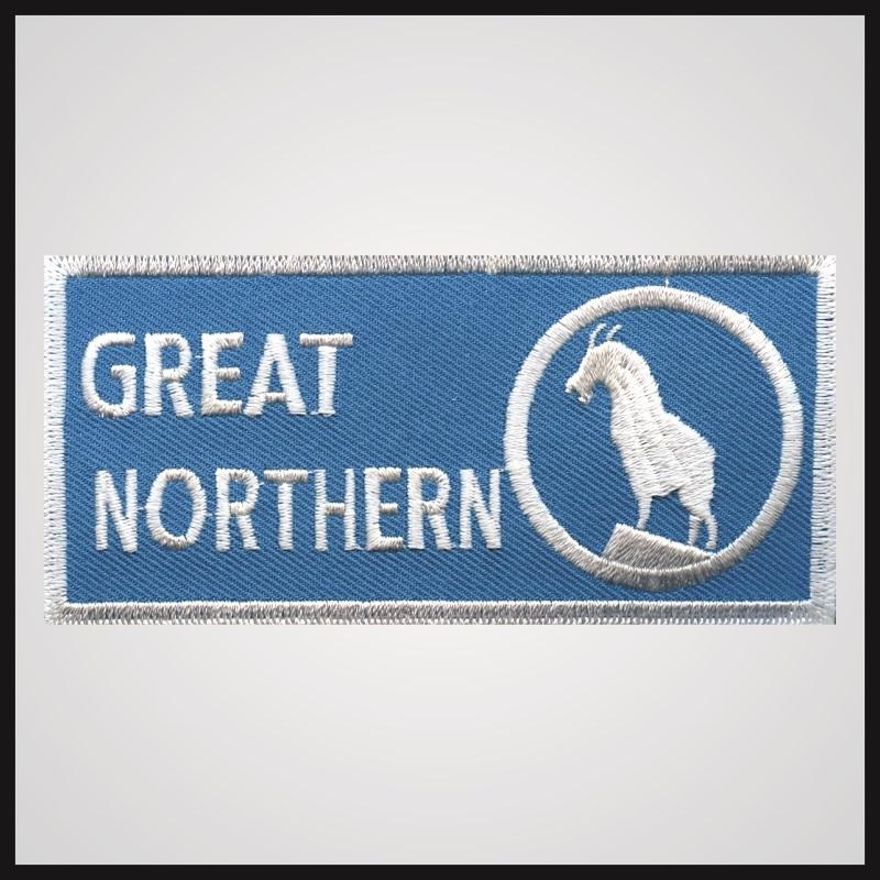Great Northern Railway - Rectangle Logo