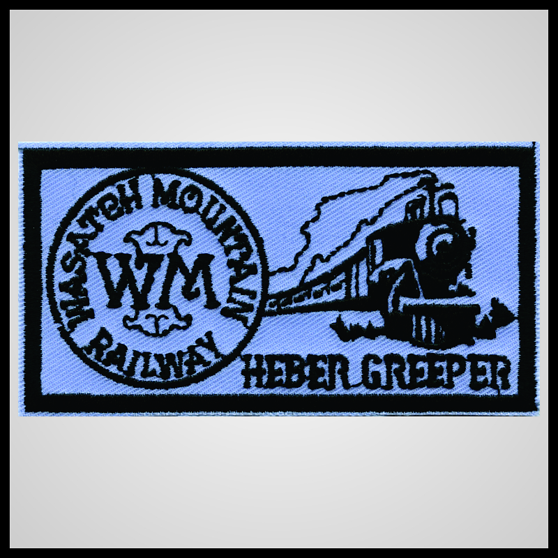 Heber Creeper - Wasatch Mountain Railway - Blue Herald