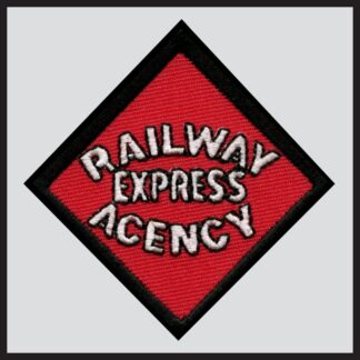 Railway Express Agency - Black Text Herald