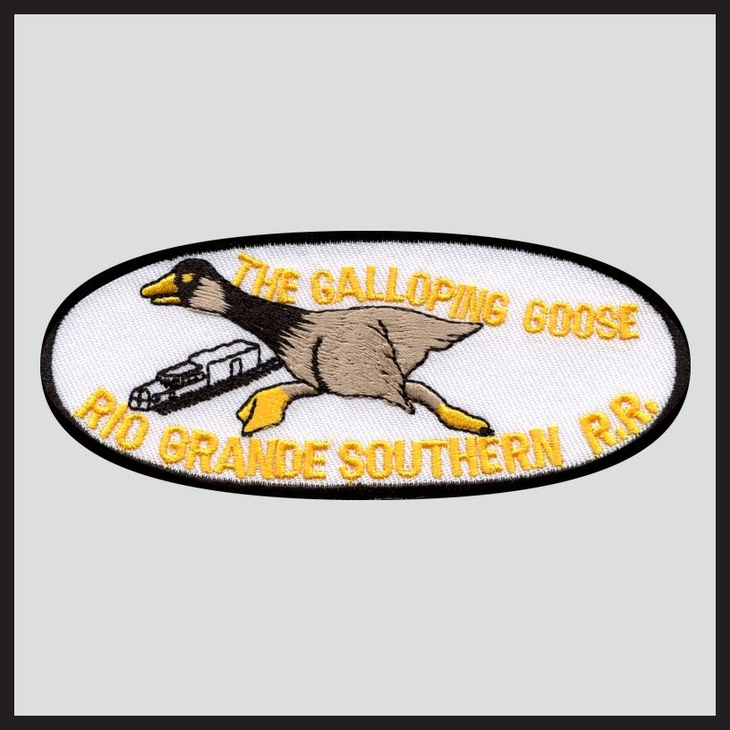 Rio Grande Southern - Galloping Goose - Oval Herald