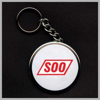 soo-white-keychain