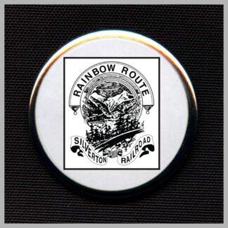 Silverton Railroad Rainbow Route - Black Herald