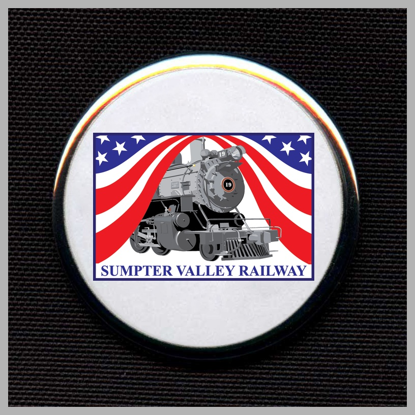 Sumpter Valley Railroad - Flag Herald