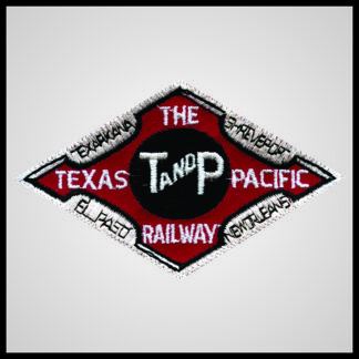 Texas and Pacific Railway - Dark Red Herald