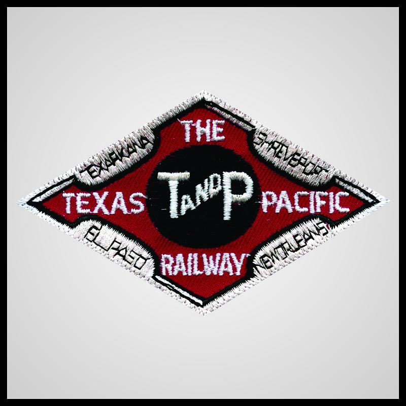 Texas and Pacific Railway - Dark Red Herald