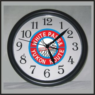 white-pass-red-clock