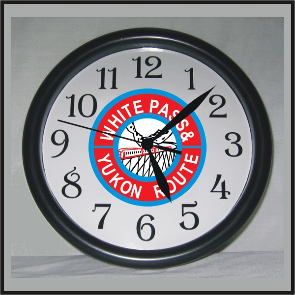 white-pass-red-clock