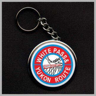 white-pass-red-keychain